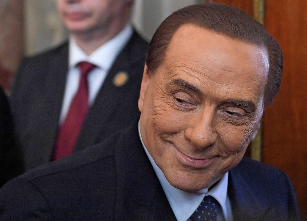 Inzwischen 82 Jahre alt, aber immer noch einflussreich: Silvio Berlusconi    Foto: TIZIANA FABI