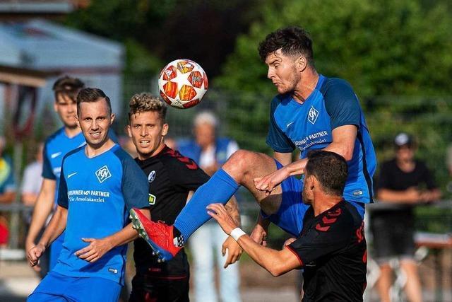 Der FC Neustadt schlägt sich beim 1:5 gegen den SC Freiburg II wacker
