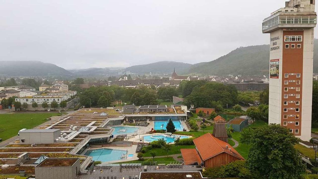 Auch an ihrem Hauptsitz in Bad Zurzach betreibt die Stiftung mehrere Bäder.  | Foto: Felix Held
