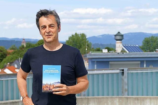 Der ehemalige Rheinfelder Klaus Späne hat seinen Debütroman veröffentlicht