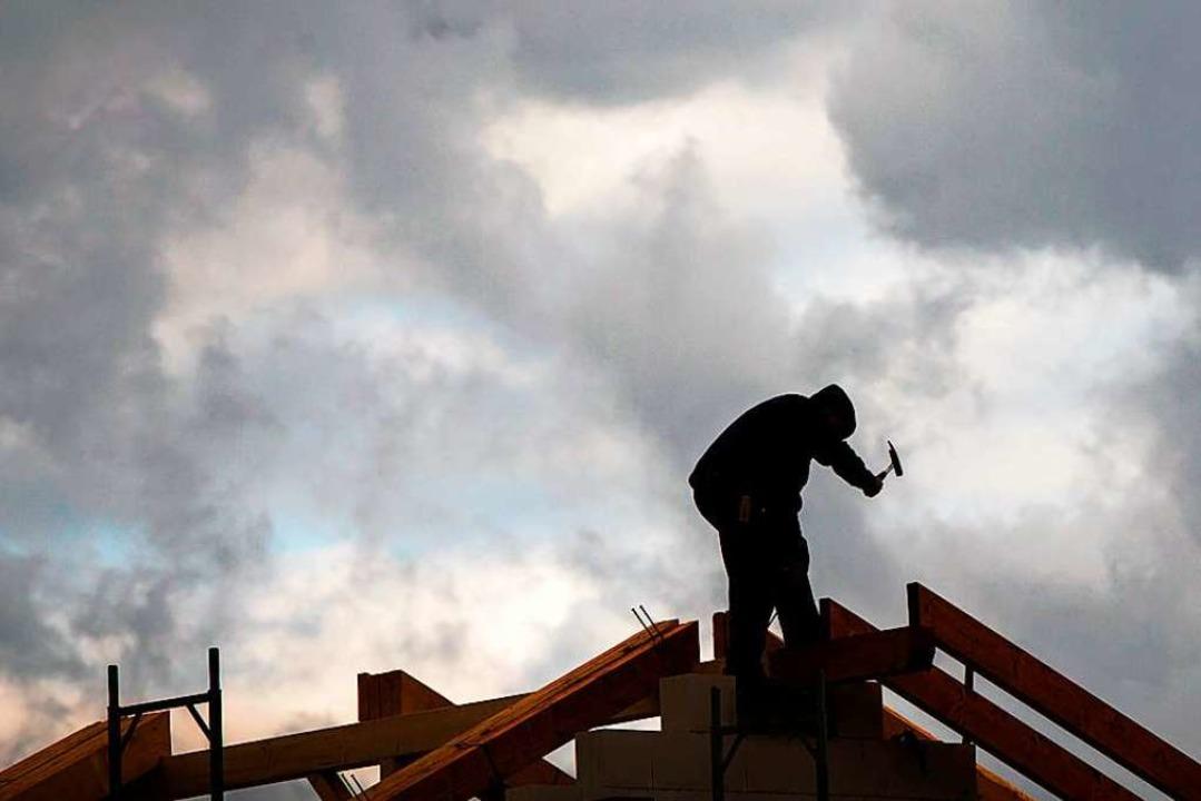 Der Gebäudesektor muss  beim Klimaschutz eine wichtigere Rolle spielen.    Foto: Frank Rumpenhorst