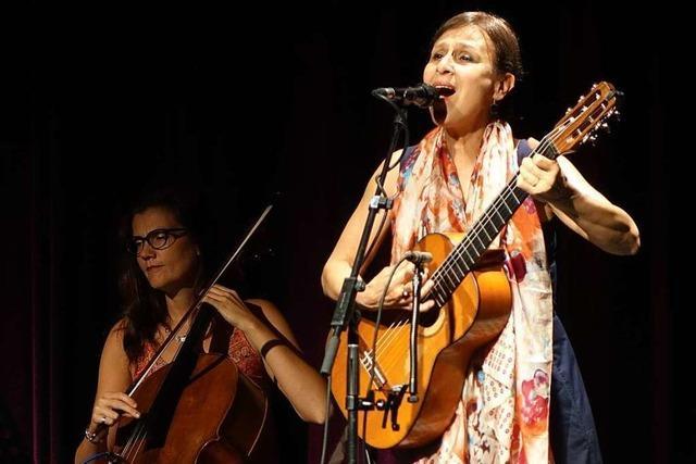 Die sizilianische Liedermacherin Etta Scollo trifft direkt ins Herz