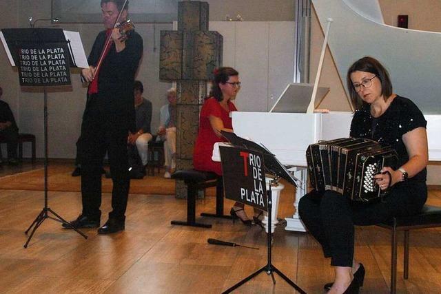 Tango-Trio lässt Görwihl von Argentinien träumen