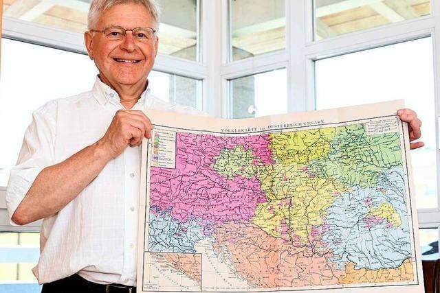 Dieser Freiburger wünscht sich mehr Austausch mit Osteuropa