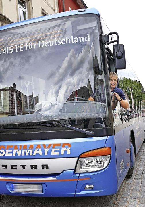 Busunternehmer Ingo Bauer sieht die Ze...rf momentan noch an der Infrastruktur.  | Foto: Stefan Limberger-Andris