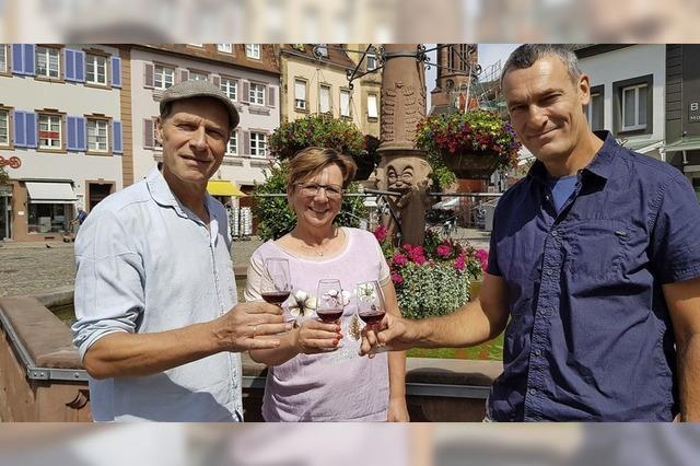 Keltern aus Liebe zum Wein