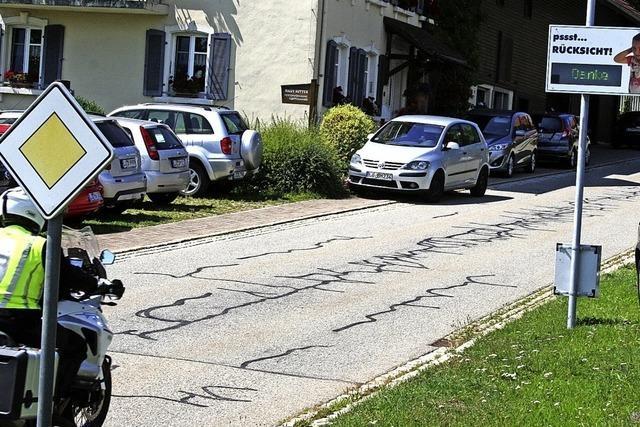 Verkehrserziehung in Gersbach