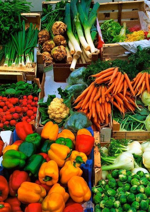 Viel zu schade zum Wegwerfen: Gemüse und sonstige Lebensmittel  | Foto: Creativ Collection