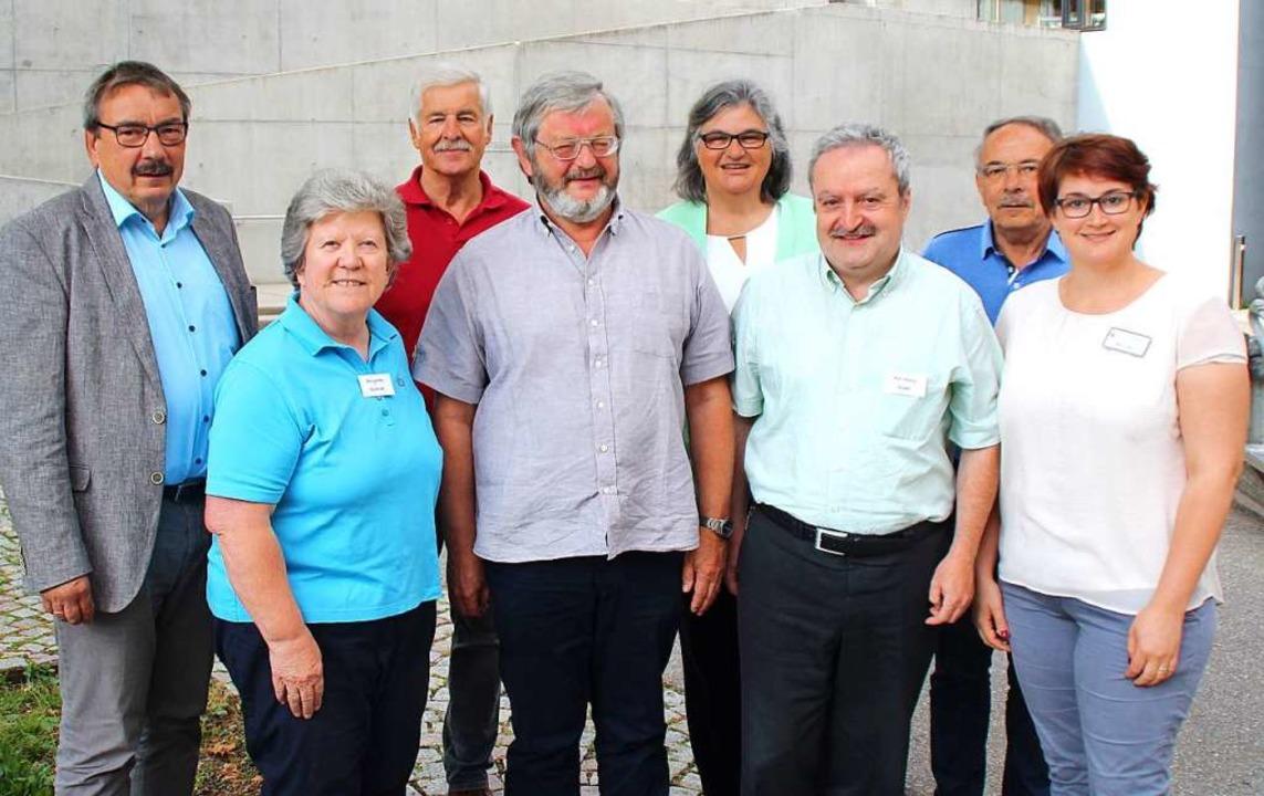 Der Vorstand des noch jungen Vereins S...Huber, Siegfried Kiefer, Miriam Zeller  | Foto: Rolf Reißmann