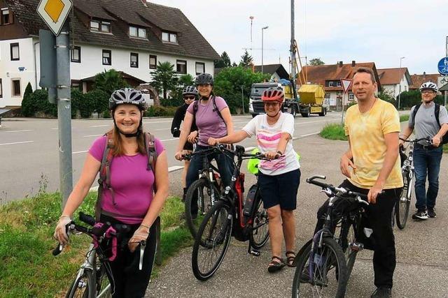 Friesenheimer Pendlergruppe radelt zwei Mal pro Woche nach Offenburg