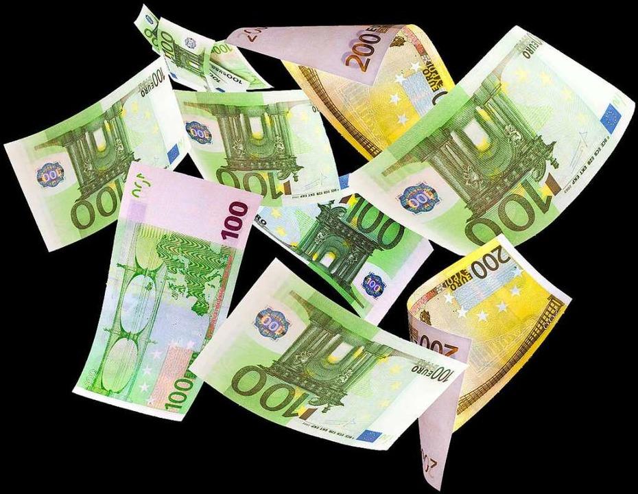 Nur selten erleben Lottospieler tatsächlich einen Geldregen.   | Foto: TAU/stock.adobe.com