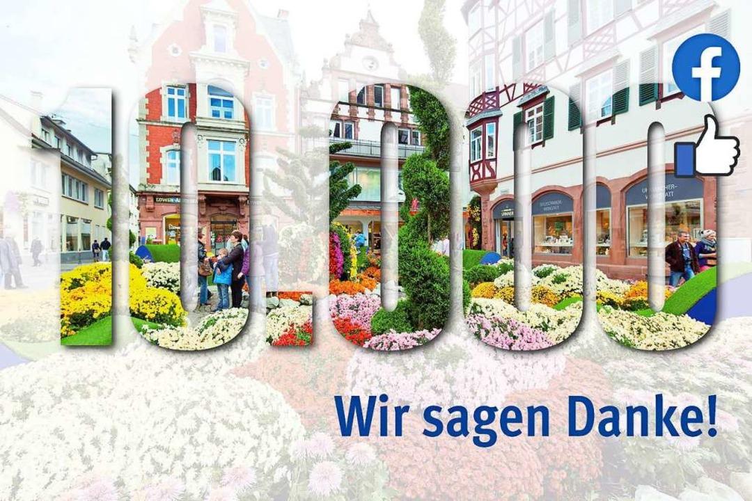 Die Facebook-Seite der BZ in Lahr hat die 10.000-Fan-Marke überschritten.  | Foto: Badische Zeitung