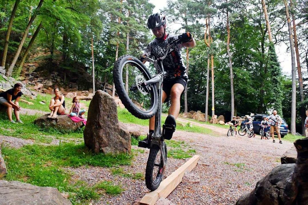 Trial-Biker des MSC Münstertal  | Foto: Wolfgang Künstle