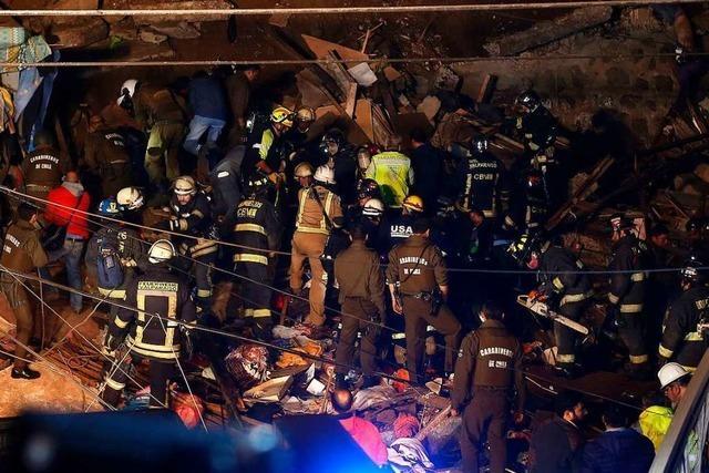 Mindestens vier Tote bei Erdrutsch in Touristenviertel in Chile
