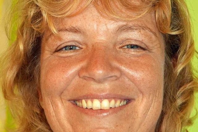 Karin Hauser will mit den Grünen Kirchzarten lebenswert erhalten