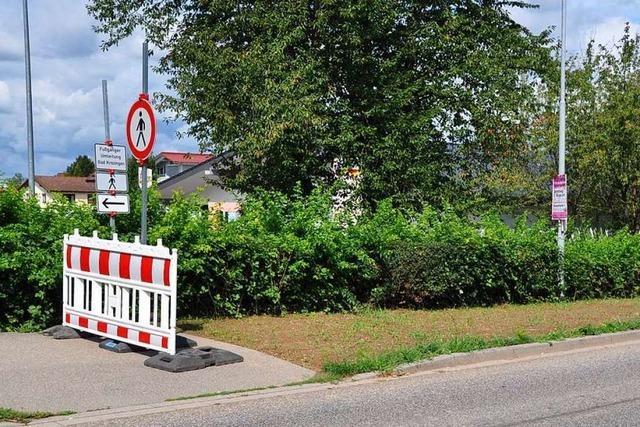 Neue Staufener Ortsumfahrung lässt Rad- und Fußwege im Nirgendwo enden
