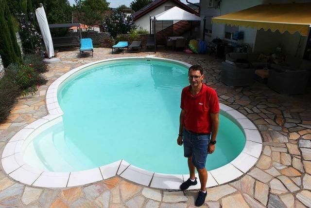 Wie es ist, seinen eigenen Pool zu haben