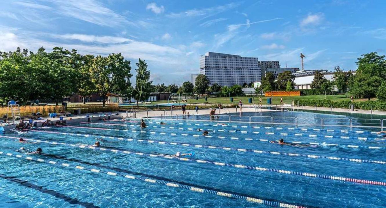 Das Schwimmbad Wacken  | Foto: stadt kehl