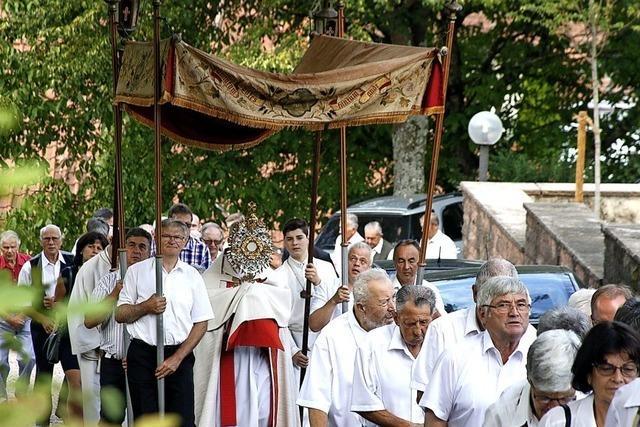Schweighausen feiert St. Romanus