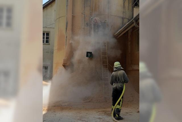 Feuer in der Bürstenfabrik