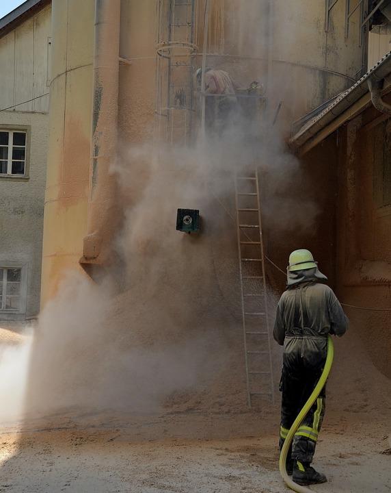 Ein Funkenschlag in der Absauganlage h...ter, sagte Firmenchef Winfried Maier.   | Foto: Christiane Sahli