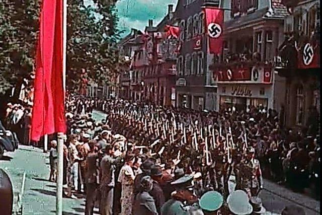 Video: Als die Nazis über den Lahrer Urteilsplatz marschierten