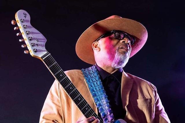Blues im Bus – Toronzo Cannon beim Dreyland-Blues-Festival