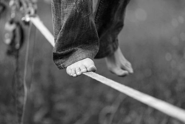 Das Leben mit Borderline-Störung ist ein Balance-Akt