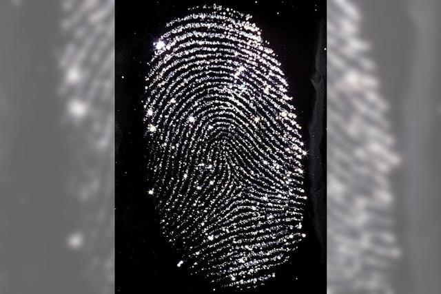 Fingerabdrücke ungeschützt einsehbar