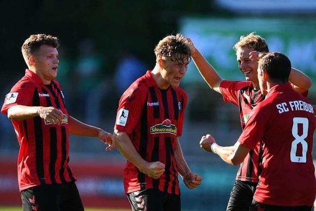 Turbulente Schlussphase kostet den SC Freiburg II Punkte