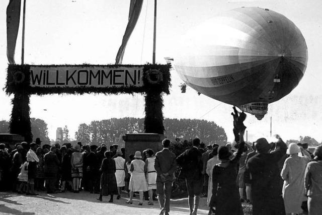 Wie die einzige Weltumrundung eines Luftschiffes zum Triumph wurde
