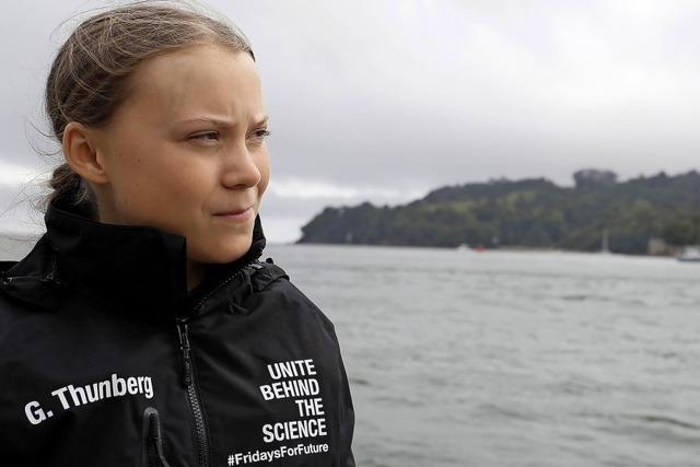 Greta Thunberg ist in See gestochen