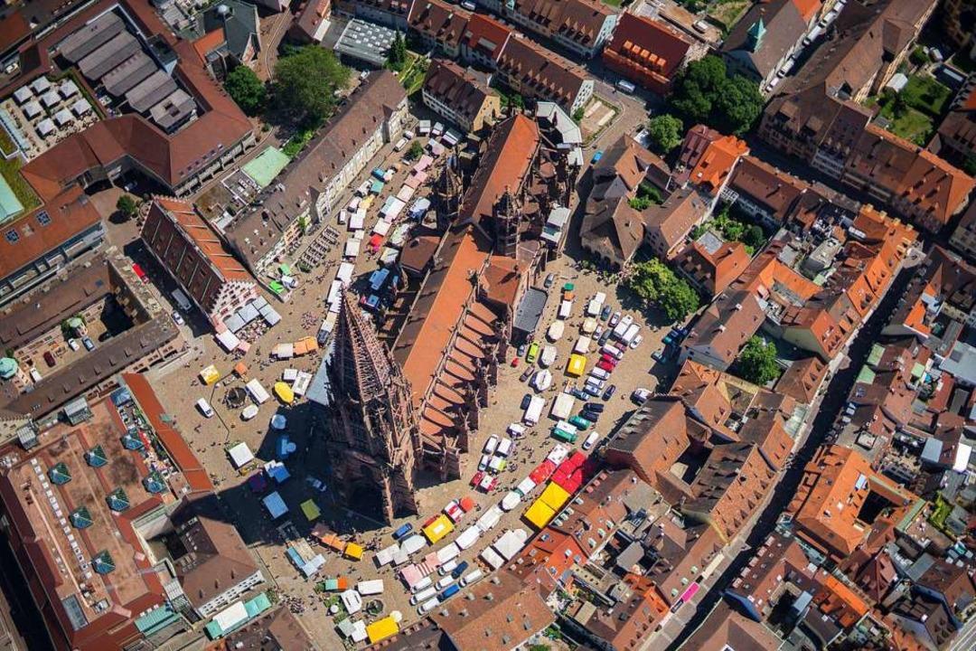Am Donnerstag ist kein Münstermarkt in Freiburg.  | Foto: Nils Theurer