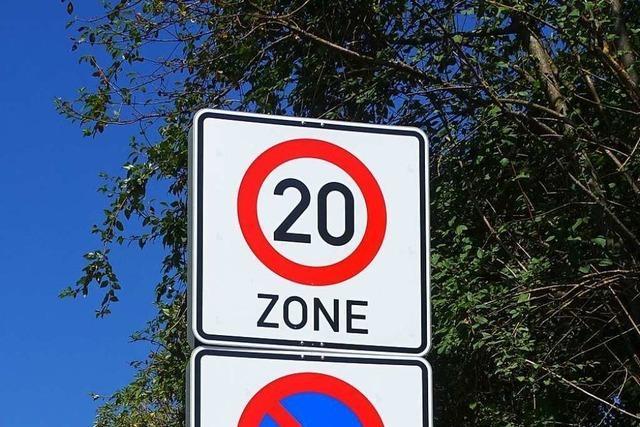 Zwischen Schwarzwaldstraße und Hauptstraße in Denzlingen gilt nun Tempo 20