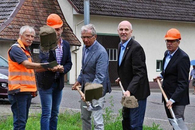 Spatenstich beendet Münstertals L 123-Frust