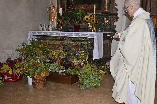 Kräuter für die Heilige