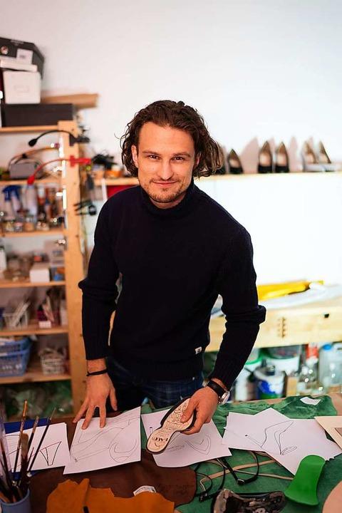 Christof Baum hat das von ihm und sein...twickelte Fußbett patentieren lassen.   | Foto: @WebStyleStory /FX Watine