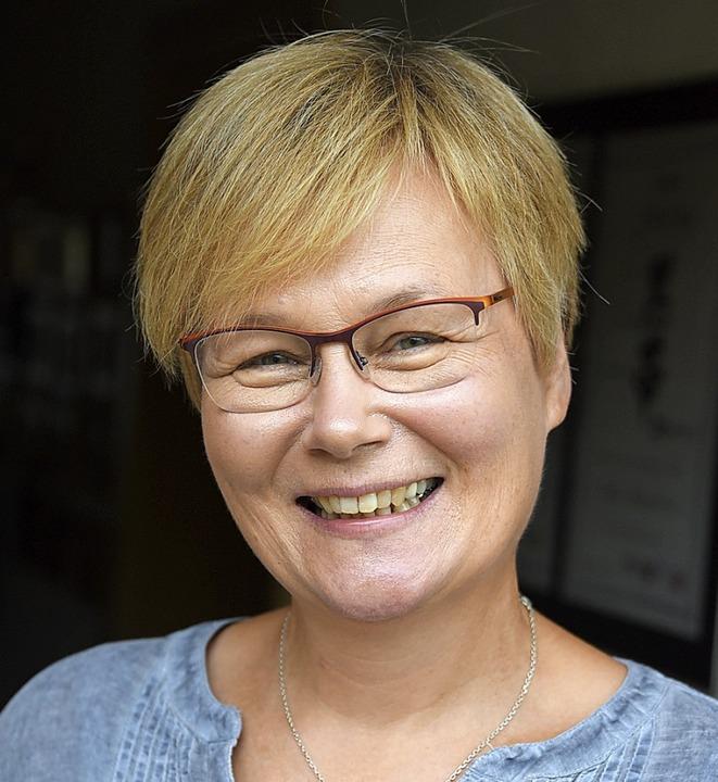 Almut Steyer, die neue Ortsvorsteherin von Schlächtenhaus.    Foto: Robert Bergmann