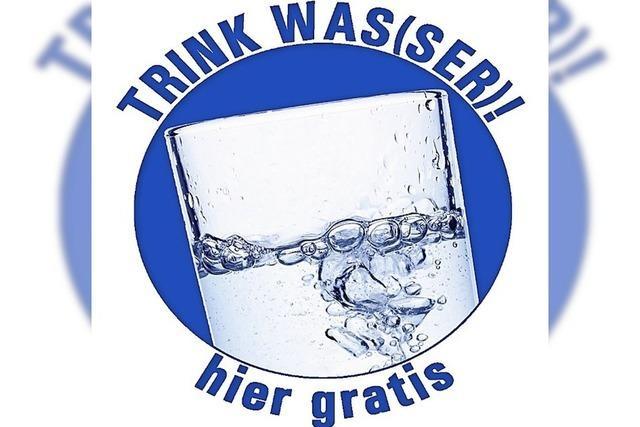 Kostenloses Trinkwasser in der Stadt