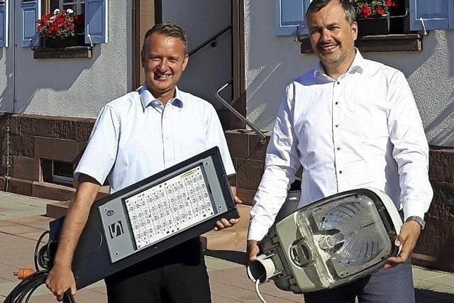 Ringsheim wird klimafreundlich erleuchtet