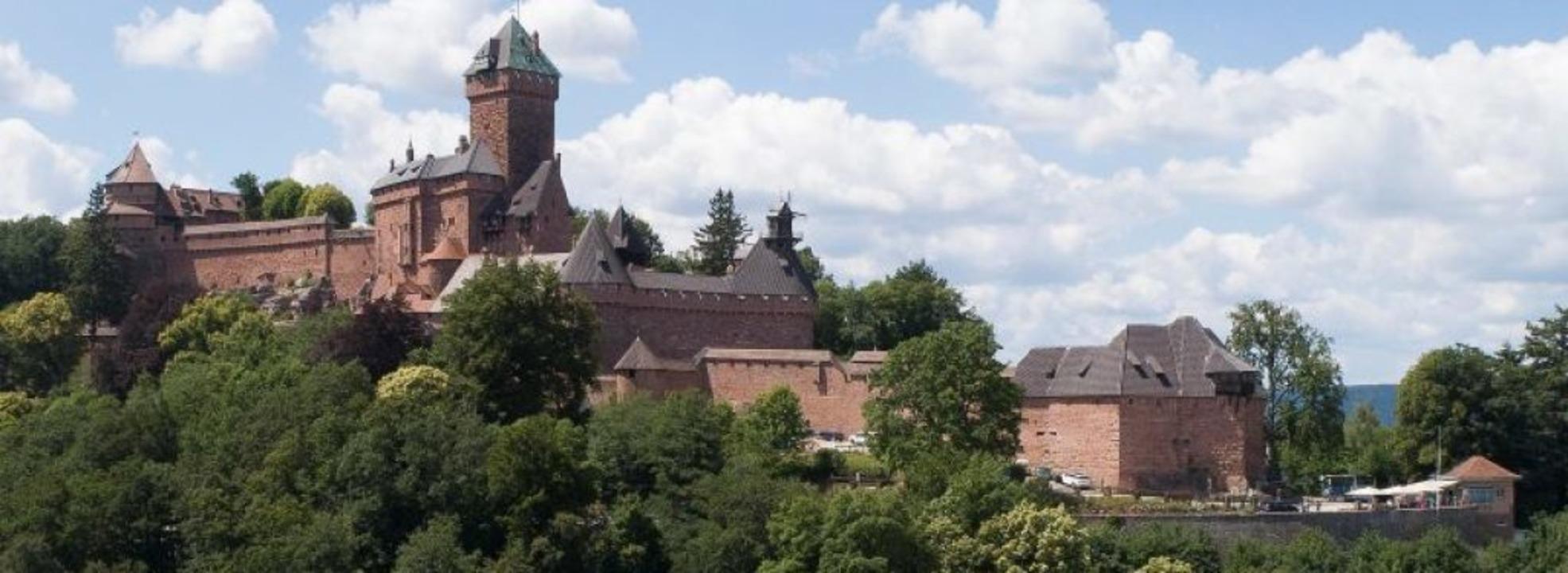 Thront weit oben –  die Hohkönigsburg  | Foto: SEBASTIEN BOZON