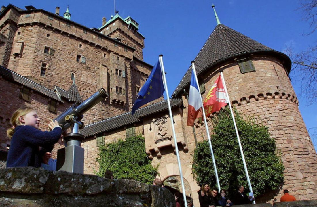 Sieht aus wie neu – die Hohkönigsburg.  | Foto: THOMAS WIRTH