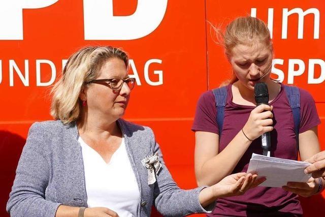 Umweltministerin bleibt bei Dialog mit Fridays for Future Ortenau vage
