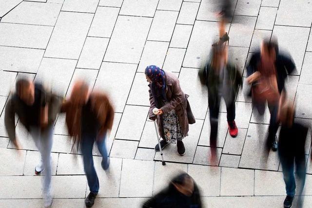 Die aufdringliche Werbung in Lörrachs Innenstadt nervt