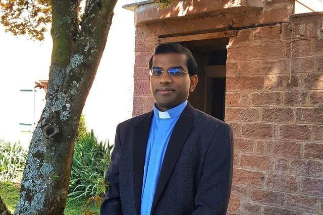Yesudas Kochupurackal ist der neue indische Pater in der katholischen Seelsorgeeinheit