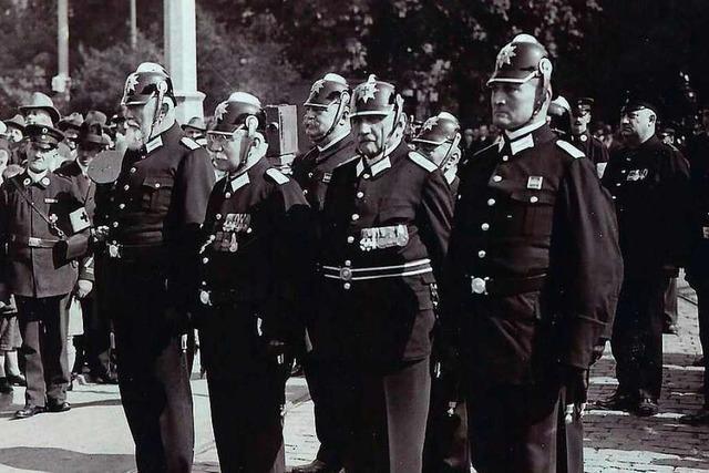 Ehrenabteilung der Freiburger Feuerwehr feiert 120-jähriges Bestehen