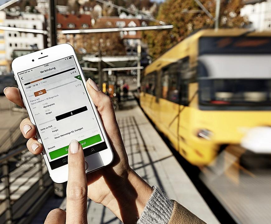 Die richtige Verbindung: Sie zu finden...dener Verkehrsträger wird erleichtert.  | Foto: Daimler