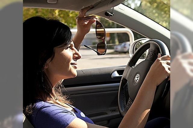 Freie Sicht für Fahrer