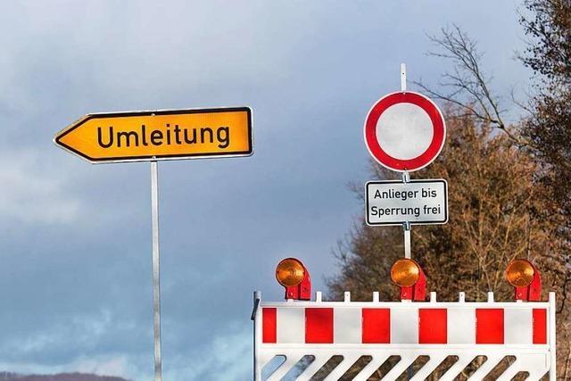 Kreisstraße in Schopfheim-Raitbach wird voll gesperrt