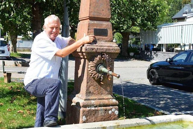 Warum ein Wirt aus Schopfheim vor 32 Jahren in einem Brunnen landete